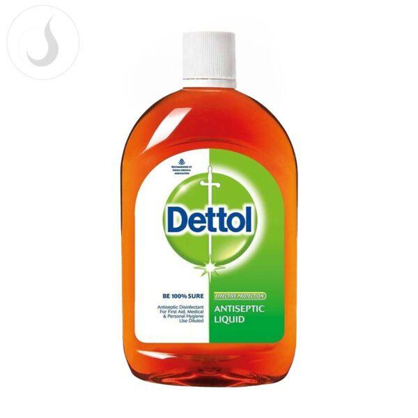 Dettol disinfection
